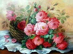Цветочная живопись Douglas Frasquetti. Обсуждение на LiveInternet - Российский Сервис Онлайн-Дневников
