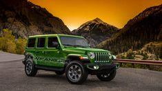 Taste the rainbow: 2018 Jeep Wrangler JL colors revealed