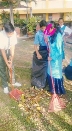 We both faught bcz we want to sweap
