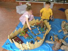 Play animal habitat