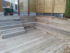 1000 images about bestrating sierbestrating vlonder on pinterest tuin van and met - Bank terras hout ...