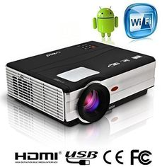 EUG X89+(A) LCD LED Wireless Android4.2 Wifi HD Video Projector Support 1080p 3D 3000 Lumens For Home Theater Cinema Games Ipad Iphone Laptop Portable EUG http://www.amazon.com/dp/B00UWFHU8S/ref=cm_sw_r_pi_dp_JeC4wb127V4E8