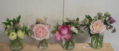 The Flower Appreciation Society Wedding Flower Inspiration, Wedding Flowers, Jam Jar, Screen Shot, Christening, Floral Arrangements, Appreciation, Mason Jars, Glass Vase