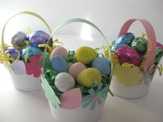 8 Steps to Making Mini Easter Baskets