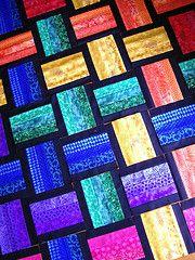 Basket Weave Rainbow