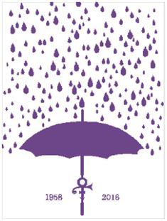 Prince's Purple Rain Written Graph by Muttix - Craftsy