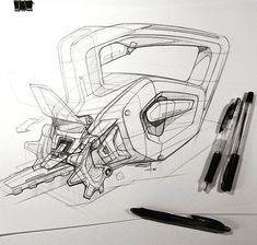#powertools Practise sketching from @rezarazazzadeh - - #sketching #tools #pensketch #linework #technique #designer #designstudent #designlovers #designdaily #letsdesigndaily @letsdesigndaily