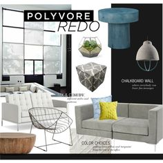 """Polyvore HQ Redo Contest Entry - Lounge"" by bellamarie on Polyvore"