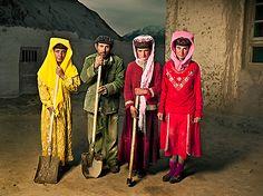 Portraits of Tajiks, the Isolated People of Taskurgan -