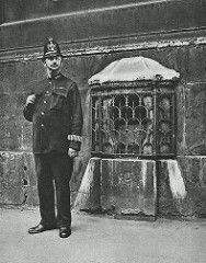 City of London Police Constable and the 'London Stone'. | by Leonard Bentley