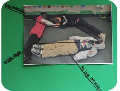 Great idea for a geometry unit. Students create a geometric figure with their bodies then label the photograph.