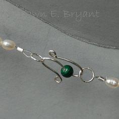How to make a custom S-Hook Clasp   JewelryLessons.com - 20 gauge half-hard