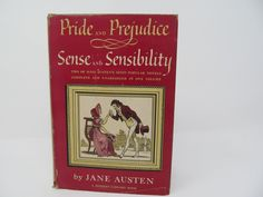 Pride and Prejudice/ Sense and Sensibility by Jane Austen 1949 by CellarDeals on Etsy