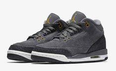 huge discount 707e8 e5ad3 Air Jordan Retro 3 sz 6.5 y 441140 035 grey 1 4 6 11 13 basketball
