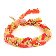 Sunshine Friendship Thread Braided Bracelet