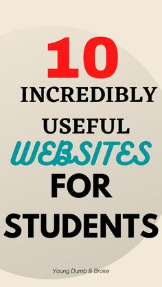Looking for a way out? These are the best websites for a student Websites For Students, College Admission Essay, School Study Tips, College Hacks, Student Reading, Life Savers, High School Students, Cool Websites, Read More