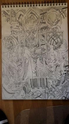 Prison Wife, Prison Art, Tattoo Design Drawings, Tattoo Designs, Prison Break 5, Broken Tattoo, P Tattoo, Michael Scofield, Origami Swan