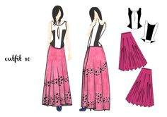 outfit 10 | design by Martina Picotti #fashion #illustration