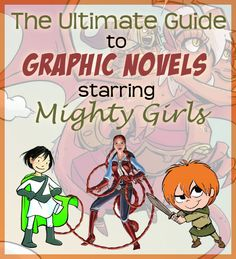 A Mighty Girl's new collection of over 70 graphic novels is one of the largest ever compiled of graphic novels starring girls and women. View the full collection at http://www.amightygirl.com/mighty-girl-picks/graphic-novels