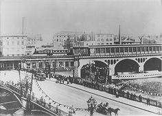S-Bahnhof Jannowitzbrücke, Berlin / Stadtbahn 1882 (im Jahre der Eroeffnung der…
