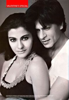 Shah Rukh Khan & Kajol for Film Fare Valentine's Special February 2010 Issue. Bollywood Stars, Bollywood Couples, Indian Bollywood, Bollywood Celebrities, Shahrukh Khan And Kajol, Srk Movies, Sr K, Star Wars, Best Couple