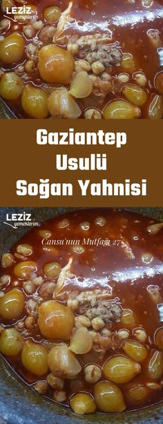 Gaziantep Usulü Soğan Yahnisi – Sulu yemek – The Most Practical and Easy Recipes Meat Recipes, Dinner Recipes, Homemade Beauty Products, I Foods, Stew, Onion, Easy, Health Fitness, Vegetables