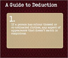 or it could be that a specific item of clothing or jewellery is of importance to them