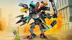 LEGO.com Hero Factory Products - Combi Models - 44016 + 44020 + 44021 Combi Model