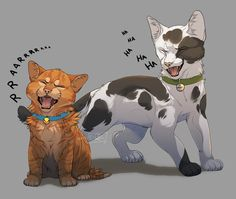 Rusty and Smudge | by GoldenDragonART