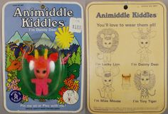 Liddle Kiddles 1968 #3637 Animiddle Dainty Deer MOC, L & L Collectables