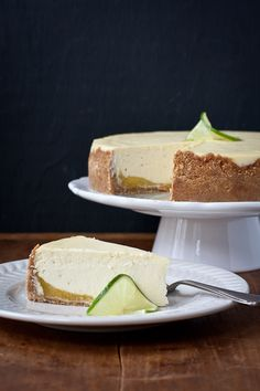 hello spring! key lime cheesecake | the merry gourmet