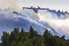 Wildfire in Portugal