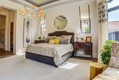 A luxurious master bedroom design by Beasley & Henley Interior Design. Naples, FL