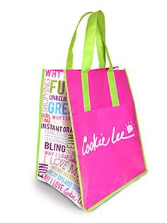 """Love my ECO bag..... Want one?  Get it """"FREE"""" when you place an order.  www.Cookielee.biz/DeborahClipper"""