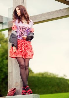 Tights ec·lec·tic : Deriving hosiery ideas, style, or taste from a broad and diverse range of sources.