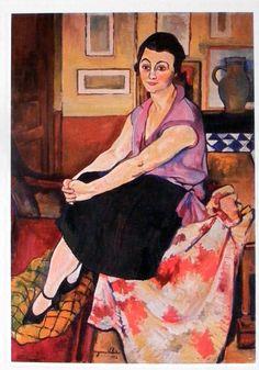 """Portrait: de Maria Lani"" Artist: Suzanne Valadon"