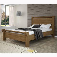Living Room Sofa Design, Bedroom Furniture Design, Bed Furniture, Simple Bed Designs, Double Bed Designs, Wood Bed Design, Bed Frame Design, Solid Oak Furniture, Simple Furniture