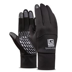 Waterproof Men Women Ski Thermal Touch Screen Gloves