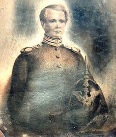 From Wikiwand: Bernard von Gélieu als Seconde-Lieutenant (Daguerreotypie von 1848)