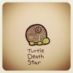 Turtle Death Star #turtleadayjuly - @turtlewayne- #webstagram
