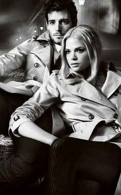 'The Icons': The Burberry Autumn/Winter 2012 campaign featuring Gabriella Wilde and Roo Panes