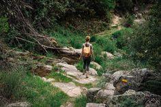 Trilho das Cascatas - Viagens à Solta Wanderlust, Hiking, Places, Travel, Culture Travel, Pedestrian, Waterfalls, Drop, Walking