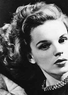 Judy Garland. The best photograph I ever saw of her. She must have been very young and not drugged up.