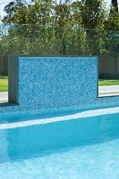 Perini Tiles- Brighton project using Bisazza's Galapagos glass mosaics