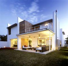 #Terrasse #dehors dedans -  House N by Agraz Arquitectos
