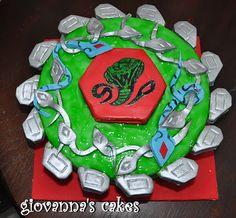 Beyblade cake idea for Taryn's bday