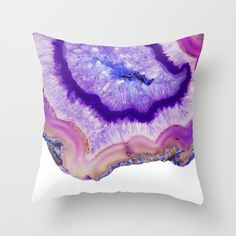 Purple agate Pillow purple agate slice pattern Pillow purple crystal minimalist decorative throw pillows home decor stone nature pillow Living Room Decor Purple, Purple Home Decor, Purple Rooms, Cute Pillows, Decorative Throw Pillows, Natural Pillows, Purple Pillows, Crystal Decor, Crystal Bedroom Decor