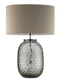 Bubble Smoke Table Lamp - Heathfield & Co