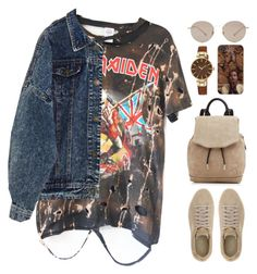 """ye twentytwenty"" by mikaylaperrine ❤ liked on Polyvore featuring Gucci, Puma, rag & bone and Anne Klein"
