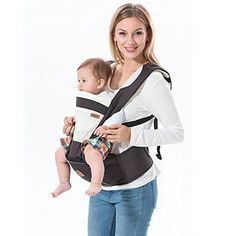 b22d9043543 Fsight Cotton Baby Carrier Infant Comfort Backpack Buckle Sling Wrap --  Want to know more